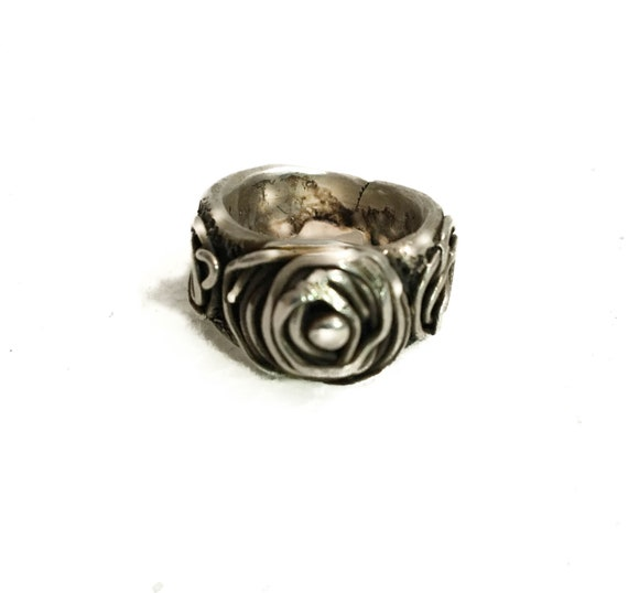 """New Item, New Collection, Sterling Silver .925 Unisex """"Talisman"""" Ring, protection from evil or harm, good fortune ring, good luck, bohemian"""