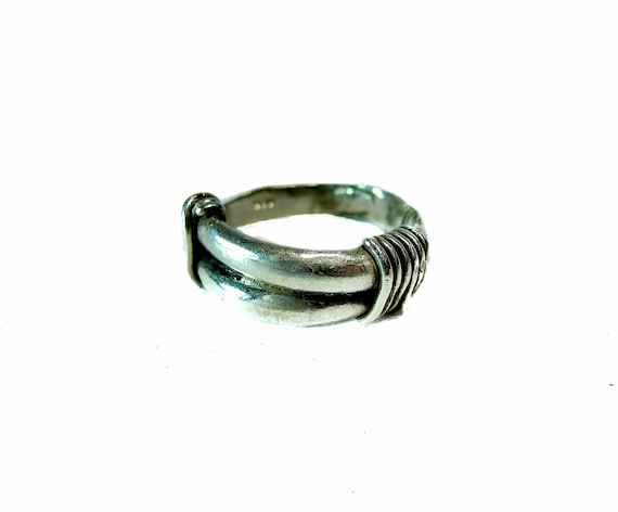 Men's Simple Sterling Band