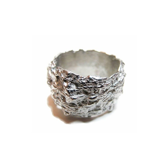 Nest Ring (silver-plated)