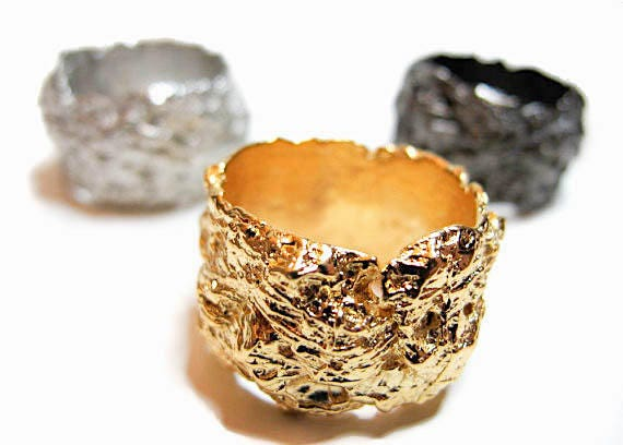 Nest Ring (plated)