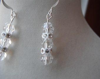 Bridal Swarovski Earrings
