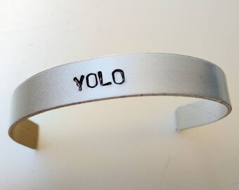 YOLO Bracalet - You Only Live Once - Julian Casablancas