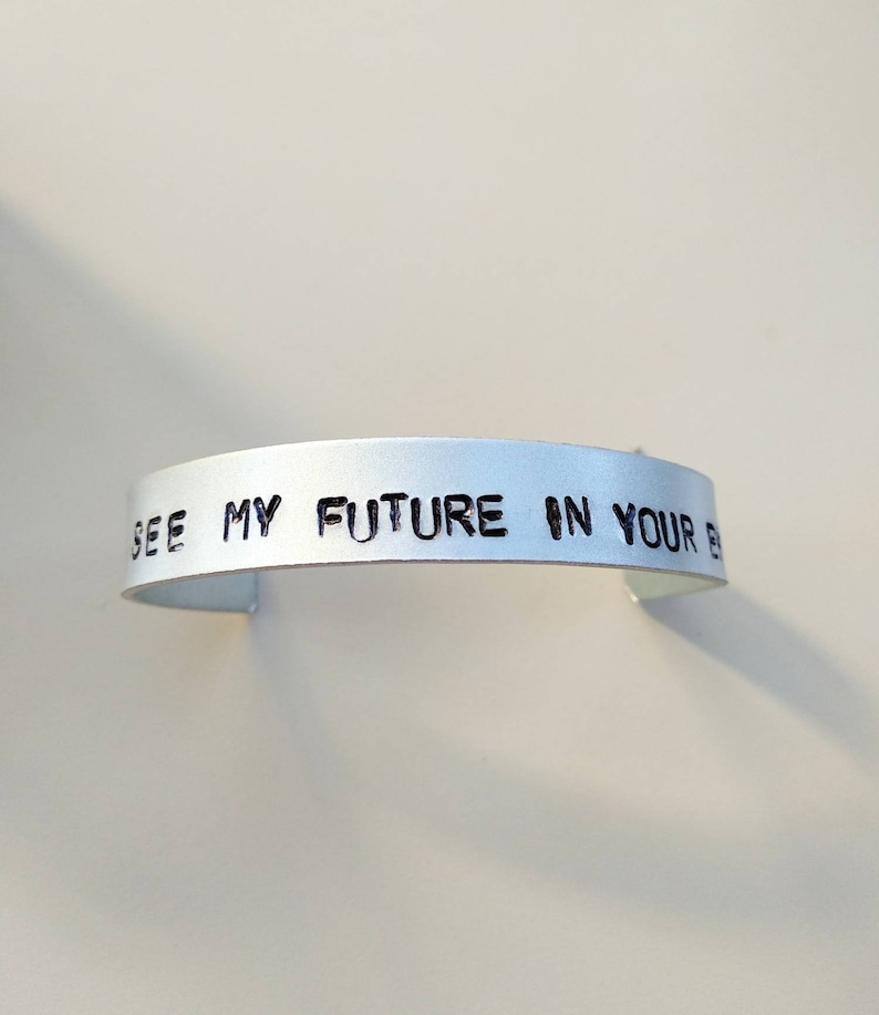 Ed Sheeran bracelet I see my future in your eyes Perfect image 0