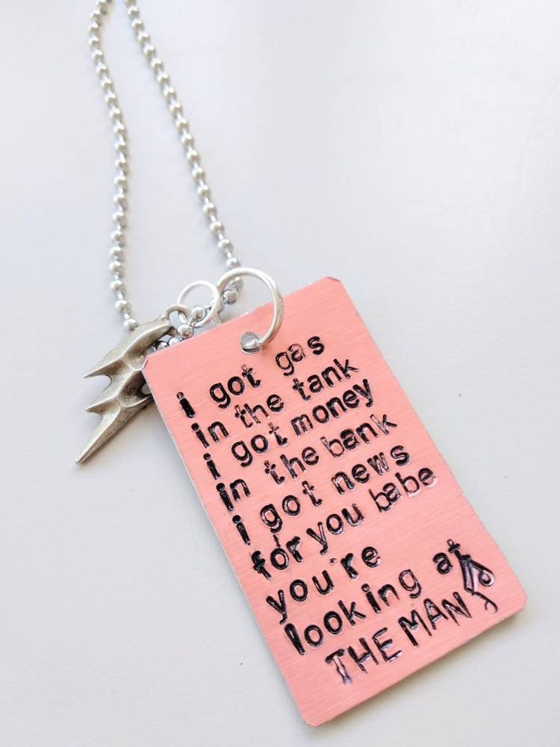 The killers necklace Brandon Flowers I will give you a home image 0