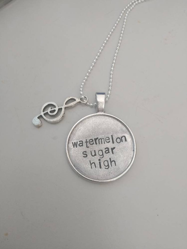 Harry Styles watermelon sugar high charm and necklace new image 0