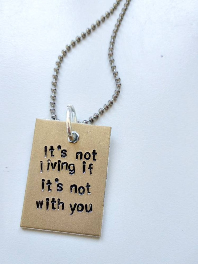 The 1975 Inspired Necklace   Matthew Healy  Adam Hann image 0