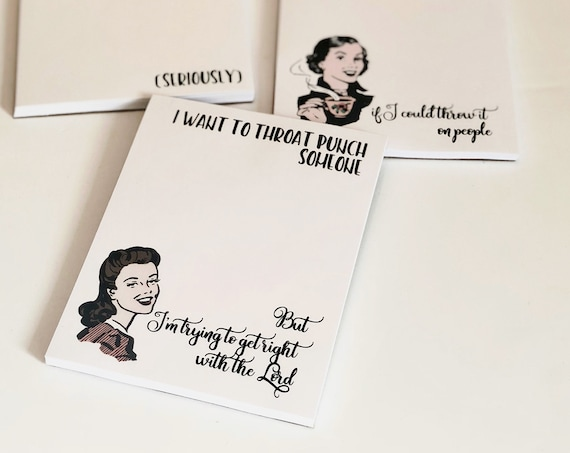 More Witty Women Notepads