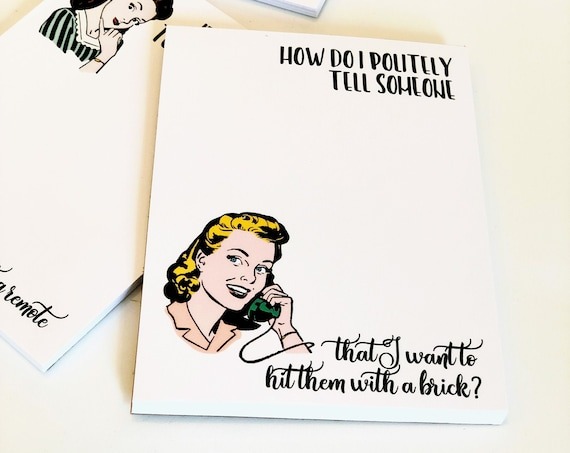 Witty Women Notepads