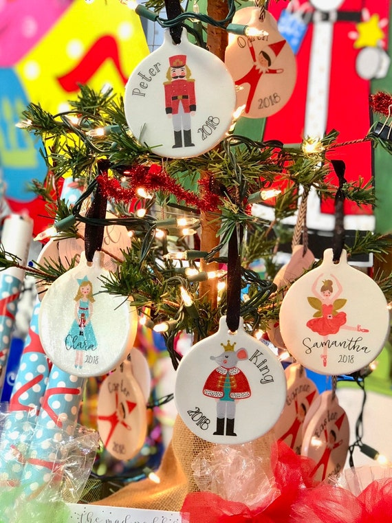 Nutcracker Personalized Ornament