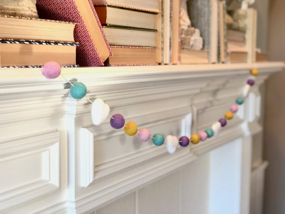 Sweet Wool Felt Ball Garland
