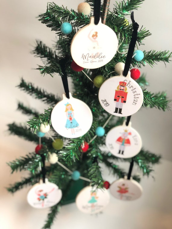 "Ballerina Christmas Ornaments Solid Acrylic 2 5 3//4/"" to 6/"" Tall"