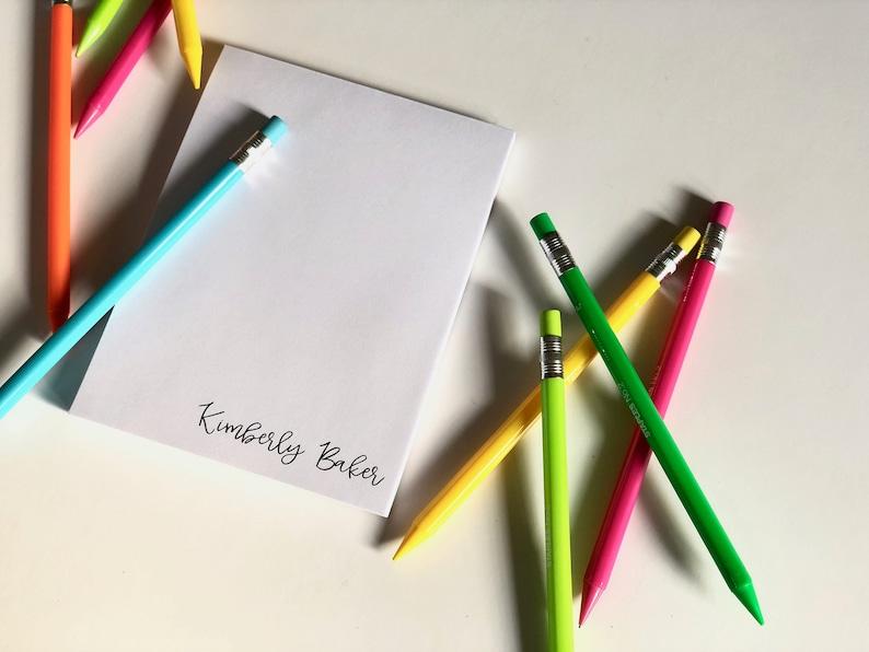Beautiful Personalized Notepads