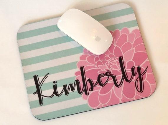 Dahlia Personalized Mousepad