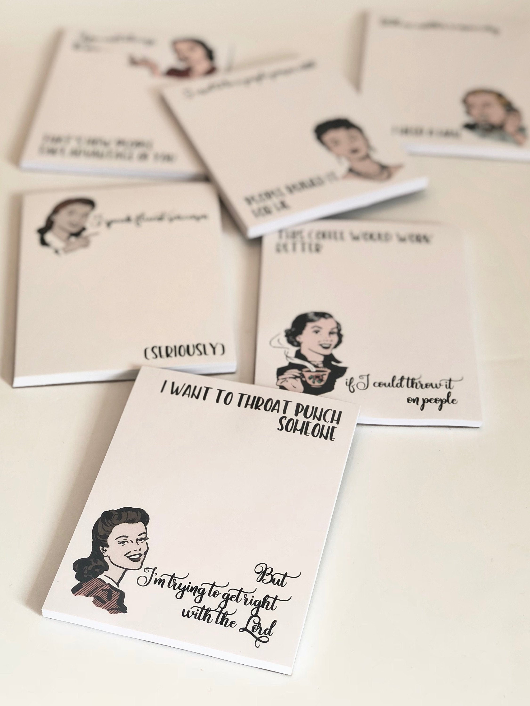 Its All About Will Of People Until It >> More Witty Women Notepads
