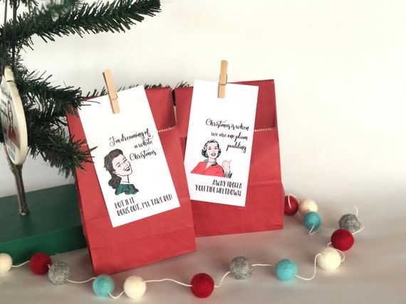 Witty Women Holiday Gift Bag Set