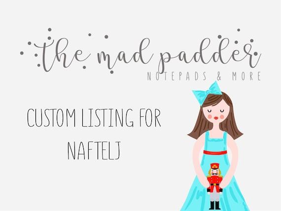 Custom Listing For naftelj