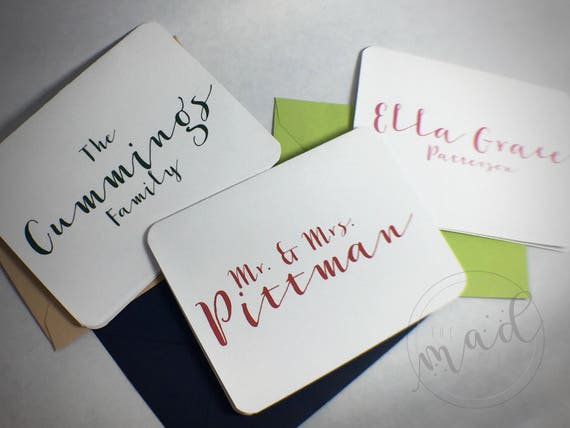 Ravishing Personalized Note Cards