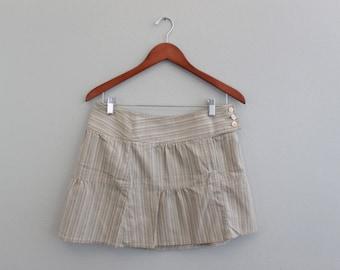 Vintage 1990s vintage stripe skirt by Nanette Lepore