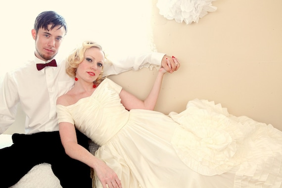 Inspired by Jackie Kennedy Wedding Dress Jackie Blue | Etsy