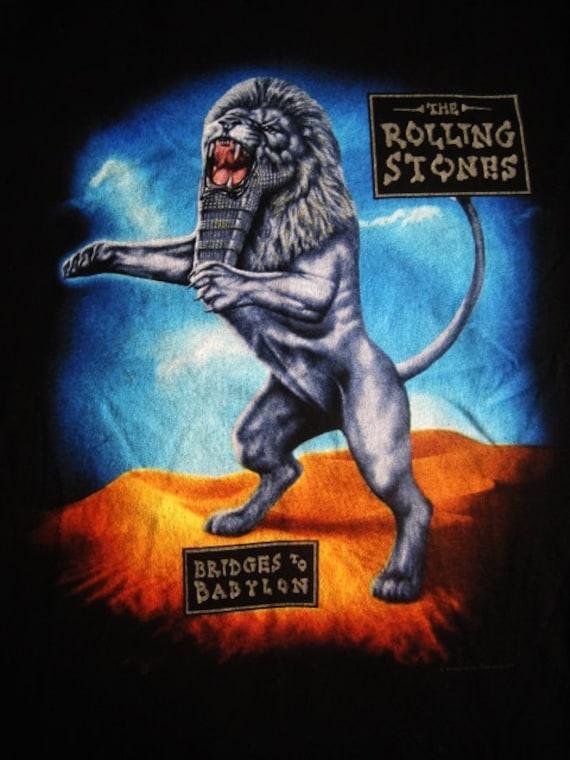 THE ROLLING STONES Tshirt Vintage Band t Shirt