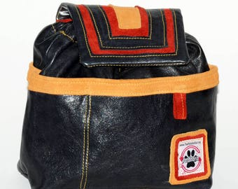 Leather!!  Designer Dog Walking Bag - The Petphoria Bag