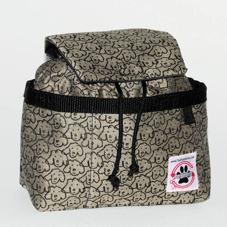 William Wegman  Dog Walking Bag  The Petphoria Bag image 0