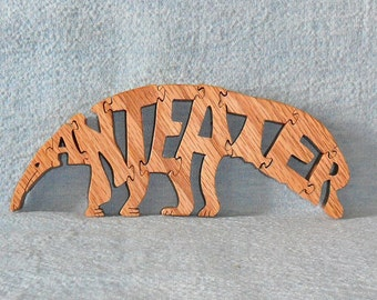 Ant Eater Wooden Puzzle