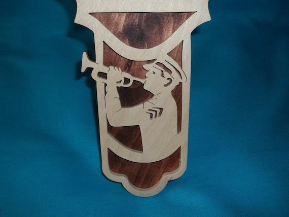Soldier Moment Of Silence Scroll Saw Wood Cross Etsy