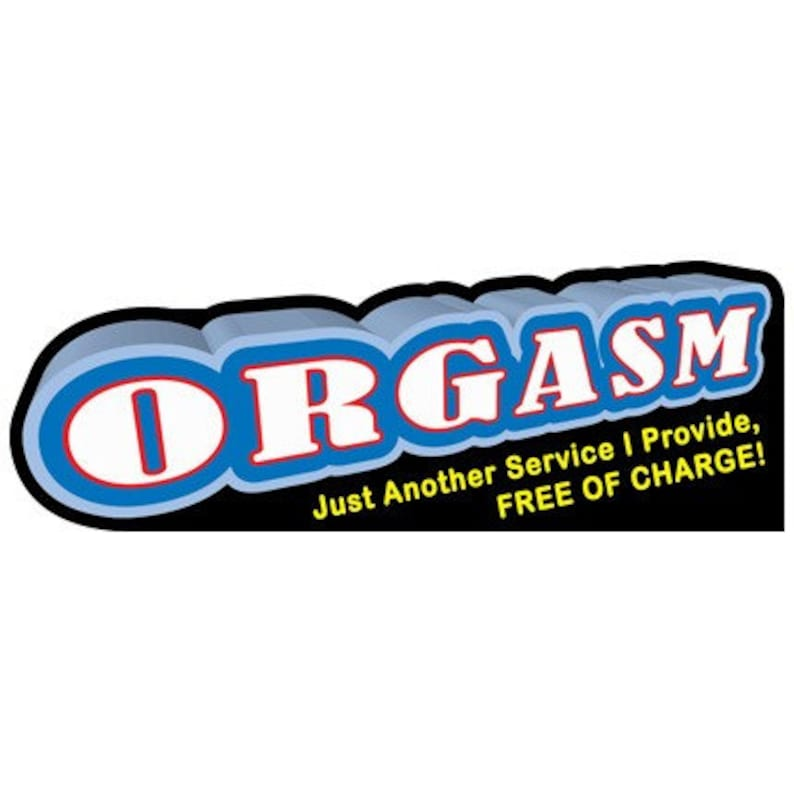 ORGASM  Just Another Sevice I Provide FREE of Charge  Vinyl image 0