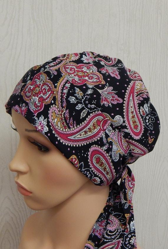 Frauen Chemo Kopf tragen binden Krebspatienten hintere Kappe | Etsy