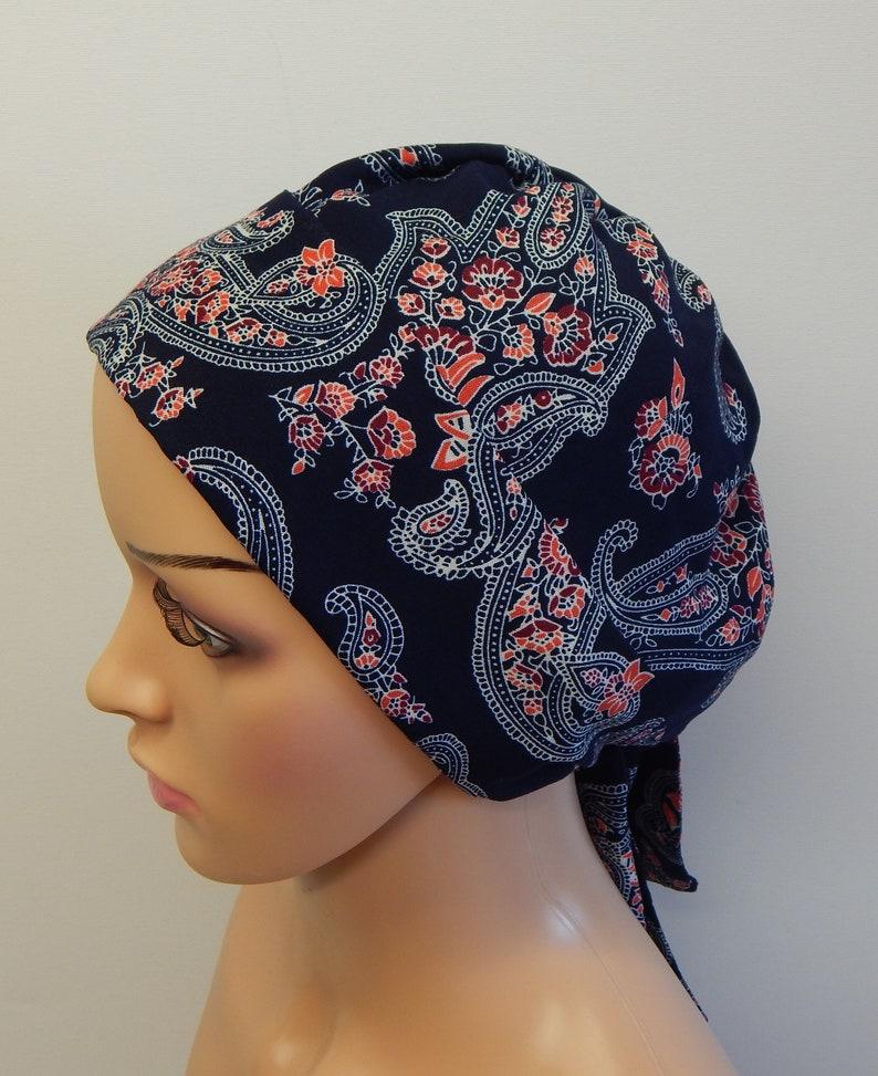 Frauen Krebs Kopftuch Wrap Kopf Mit Futter Chemo Etsy