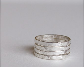 Stacking Rings-Sterling Silver-Knuckle Rings