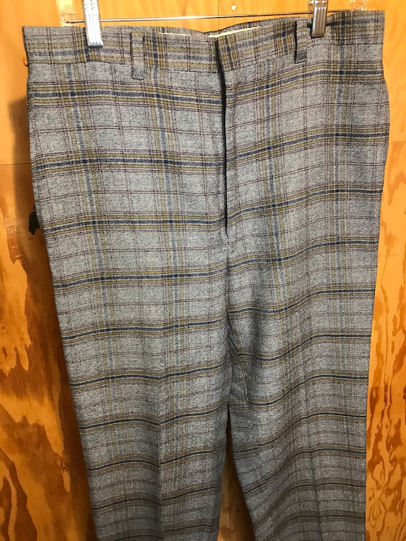 Mens Vintage Slacks 1960s Montgomery WARDS Trouser