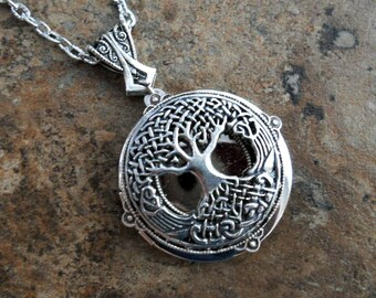Celtic Tree of Life Locket, Celtic Locket Exclusive Design by Enchanted Lockets