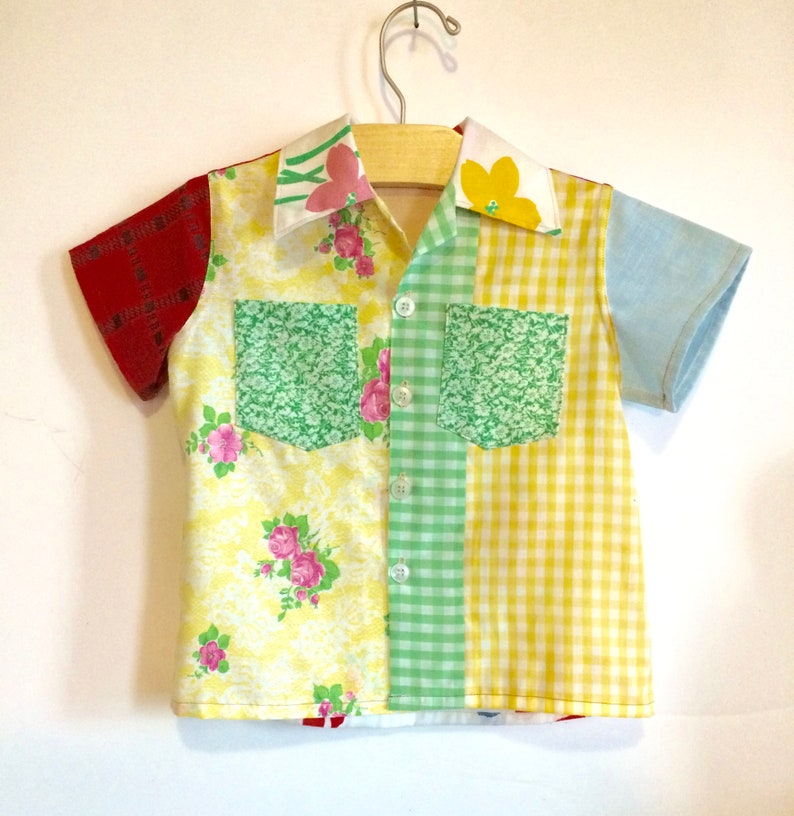 70s Baby Patch Shirt