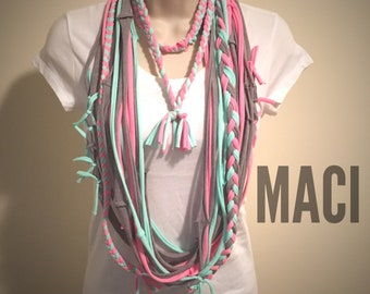 MACI Scarf/Statement Necklace