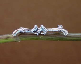 Sterling Silver Horse Head Ring R285