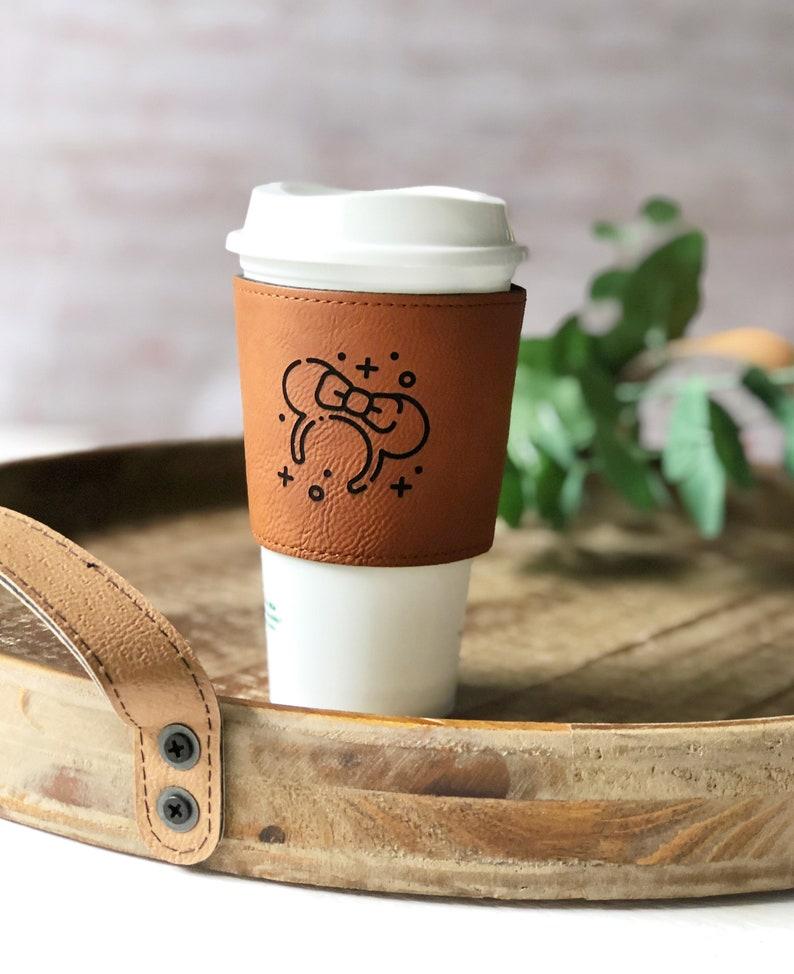 DISNEY coffee sleeve Minnie ears mickey hat disney parks Minnie/COFFEE sleeve
