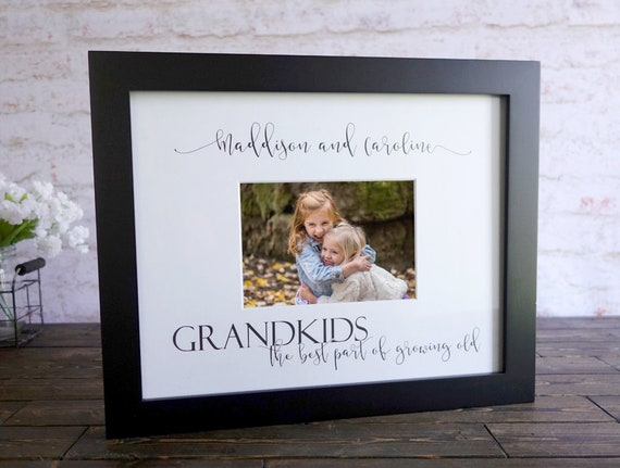 Grandkids photo mat Grandkids photo Grandchildren photo mat | Etsy