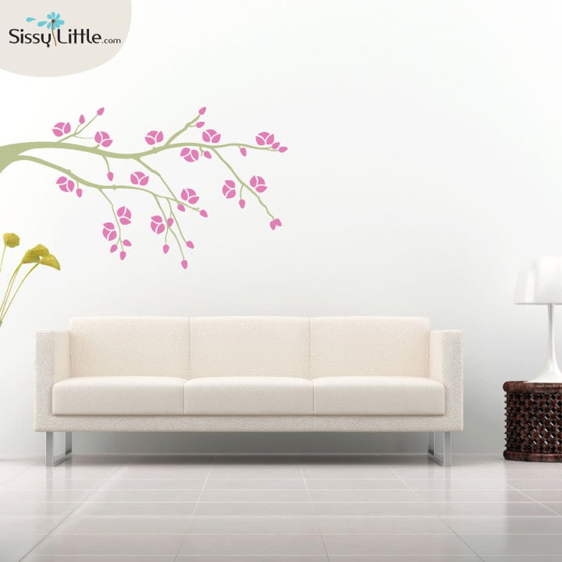Late Bloomer  Vinyl Wall Decals image 0
