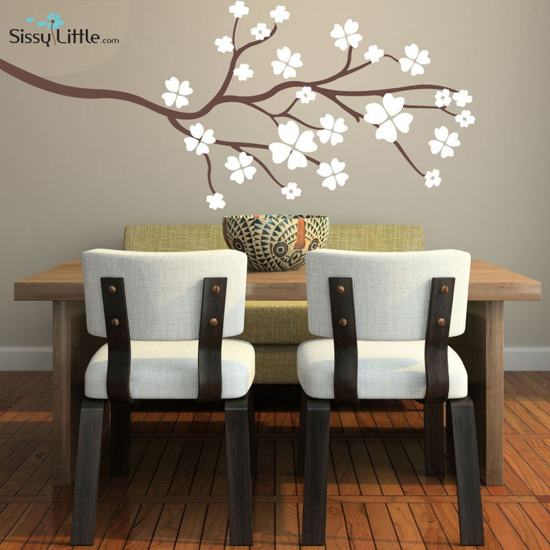 Clover Branch  Vinyl Wall Decal image 0
