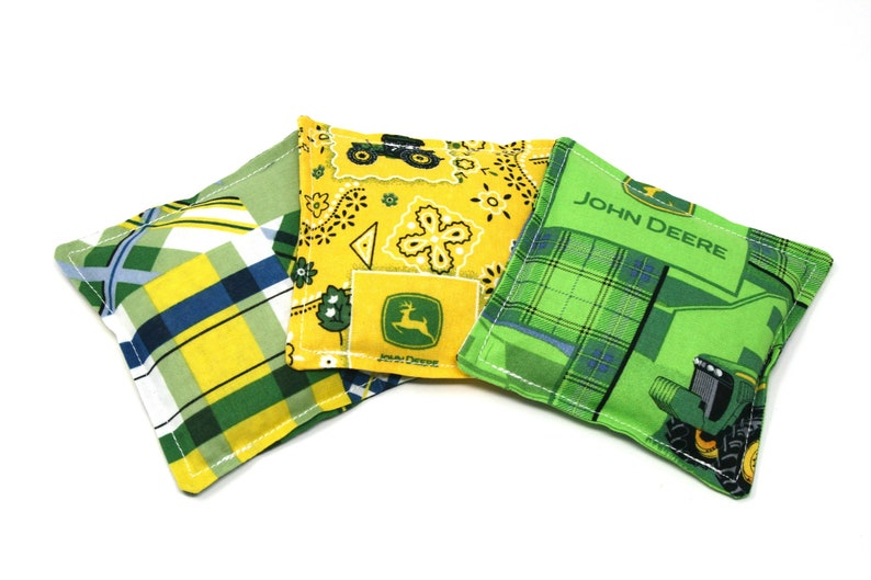 Stupendous John Deere Bean Bags For Toss Mini Bean Bags For Cornhole Small Bean Bags For Kids Bean Bag Toss Game For John Deere Party Cornhole Bags Spiritservingveterans Wood Chair Design Ideas Spiritservingveteransorg