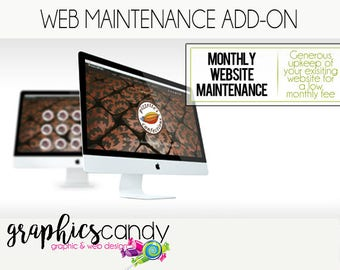 Website Maintenance - One off, monthly or annual website maintenance - Wix, Shopify, Squarespace, Blogger