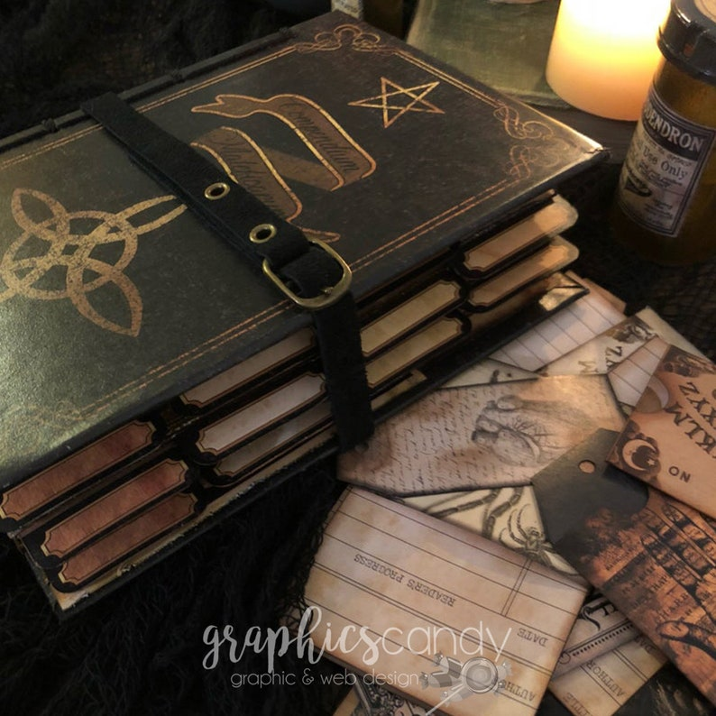 Witchy Junk Journal image 0