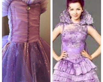 Mal Purple Dress