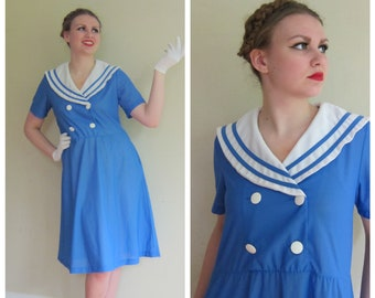f0dd23750589c Sailor dress | Etsy