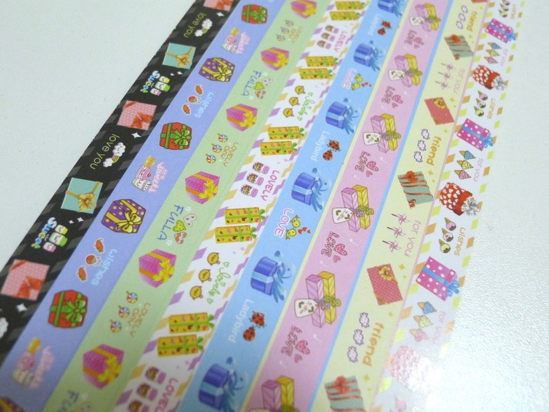 Season of Love Gift Wrapped Origami Lucky Star Folding Paper pack of 160 strips