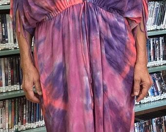 bamboo knit  caftan dress