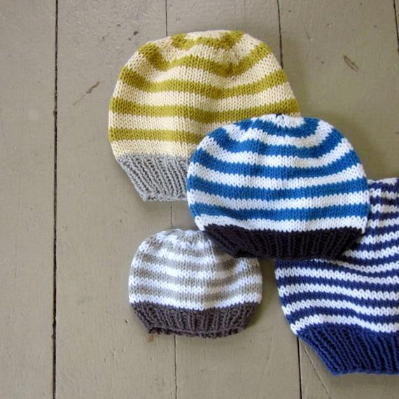 Pattern Basic Hat Knitting Pattern Pdf Knitted Hat Pattern Etsy