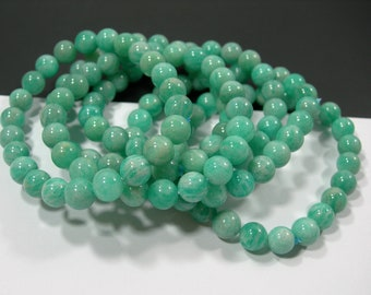 Amazonite - 1 set - 8mm  - 23 beads - A quality  - HSG150